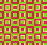αναδρομικά τετράγωνα Στοκ Εικόνα