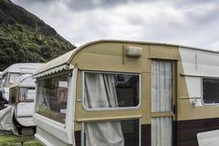 Αναδρομικά τροχόσπιτα σε NZ στοκ φωτογραφίες με δικαίωμα ελεύθερης χρήσης
