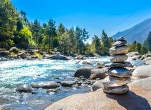 Αναδρομική έννοια SPA ισορροπίας και wellness, έμπνευση, Zen-όπως και ήρεμη σύνθεση ευημερίας Κινηματογράφηση σε πρώτο πλάνο του  στοκ εικόνες