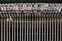 Αναδρομική γραφομηχανή στο στούντιο Στοκ Εικόνα
