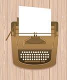 αναδρομική γραφομηχανή ύφους ελεύθερη απεικόνιση δικαιώματος