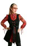 αναδρομική γυναίκα μόδας στοκ εικόνες με δικαίωμα ελεύθερης χρήσης