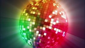 Αναδρομική λέσχη μουσικής disco σφαιρών ελεύθερη απεικόνιση δικαιώματος