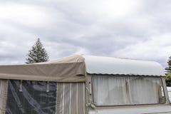 Αναδρομική λεπτομέρεια τροχόσπιτων σε NZ στοκ φωτογραφία με δικαίωμα ελεύθερης χρήσης