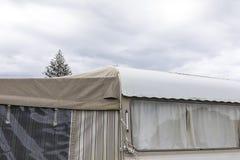 Αναδρομική λεπτομέρεια τροχόσπιτων σε NZ στοκ εικόνες
