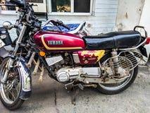 Αναδρομική μοτοσικλέτα ύφους στοκ φωτογραφίες με δικαίωμα ελεύθερης χρήσης