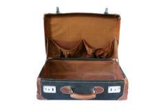 Αναδρομική ορισμένη βαλίτσα Στοκ εικόνα με δικαίωμα ελεύθερης χρήσης
