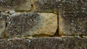 Αναδρομική σύσταση υποβάθρου τοίχων πετρών μήκους σε πόδηα φιλμ μικρού μήκους