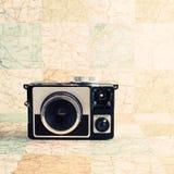 Αναδρομική φωτογραφική μηχανή Στοκ Φωτογραφίες
