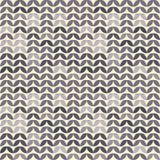 Αναδρομική giometric άνευ ραφής διανυσματική πασχαλιά κύκλων στο κίτρινο αφηρημένο καθιερώνον τη μόδα σχέδιο νεαρών βλαστών εγγρά Στοκ Εικόνα