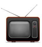 αναδρομική TV Στοκ εικόνα με δικαίωμα ελεύθερης χρήσης