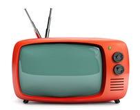 αναδρομική TV 9 16 Στοκ Εικόνα