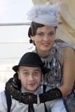 αναδρομικός γάμος στοκ φωτογραφία