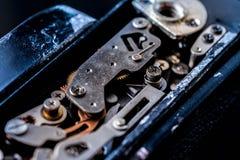 αναδρομικός διανυσματικός τρύγος απεικόνισης ανασκόπησης μηχανισμός εργαλείων παλαιός στοκ εικόνες με δικαίωμα ελεύθερης χρήσης