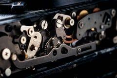 αναδρομικός διανυσματικός τρύγος απεικόνισης ανασκόπησης μηχανισμός εργαλείων παλαιός στοκ φωτογραφία με δικαίωμα ελεύθερης χρήσης