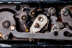 αναδρομικός διανυσματικός τρύγος απεικόνισης ανασκόπησης μηχανισμός εργαλείων παλαιός στοκ φωτογραφίες με δικαίωμα ελεύθερης χρήσης