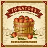Αναδρομικός κάδος των πιπεριών τσίλι διανυσματική απεικόνιση
