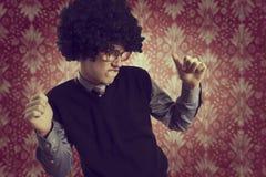 Αναδρομικός χορός στοκ φωτογραφία με δικαίωμα ελεύθερης χρήσης
