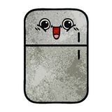 αναδρομικός ψυκτήρας ψυγείων κινούμενων σχεδίων σύστασης grunge ελεύθερη απεικόνιση δικαιώματος