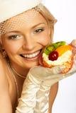αναδρομικό γλυκό δόντι Στοκ Εικόνες