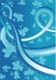 αναδρομικό διάνυσμα πεταλούδων Στοκ εικόνα με δικαίωμα ελεύθερης χρήσης