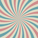 Αναδρομικό εξασθενισμένο grunge υπόβαθρο φωτός του ήλιου υπόβαθρο έκρηξης μπλε και κόκκινου χρώματος Στοκ φωτογραφία με δικαίωμα ελεύθερης χρήσης