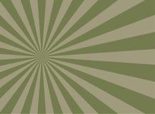 Αναδρομικό εξασθενισμένο grunge υπόβαθρο φωτός του ήλιου βρώμικο πράσινο και μπεζ υπόβαθρο έκρηξης χρώματος διανυσματική απεικόνιση