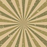 Αναδρομικό εξασθενισμένο grunge υπόβαθρο φωτός του ήλιου καφετί και μπεζ υπόβαθρο έκρηξης χρώματος r διανυσματική απεικόνιση