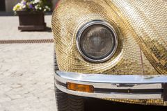 Αναδρομικό παλαιό μέτωπο αυτοκινήτων στοκ εικόνες με δικαίωμα ελεύθερης χρήσης