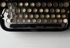 Αναδρομικό παλαιό ύφος μηχανών γραφομηχανών Στοκ Φωτογραφίες