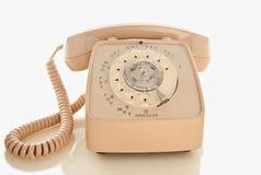 Αναδρομικό περιστροφικό τηλέφωνο στοκ εικόνες