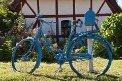 Αναδρομικό ποδήλατο Στοκ Εικόνες