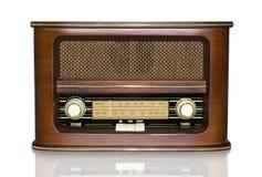 Αναδρομικό ραδιόφωνο στοκ φωτογραφίες