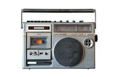 Αναδρομικό ραδιόφωνο Στοκ Εικόνες