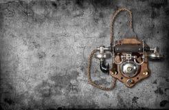 Αναδρομικό τηλέφωνο Στοκ Εικόνα