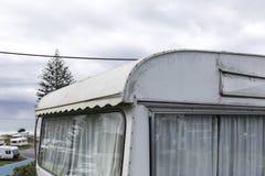Αναδρομικό τροχόσπιτο σε NZ στοκ φωτογραφίες με δικαίωμα ελεύθερης χρήσης