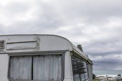 Αναδρομικό τροχόσπιτο σε NZ στοκ εικόνες με δικαίωμα ελεύθερης χρήσης
