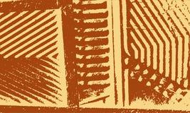 Αναδρομικό υπόβαθρο λωρίδων Grunge Στοκ Εικόνα