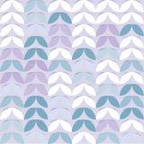 Αναδρομικό giometric άνευ ραφής διανυσματικό αφηρημένο καθιερώνον τη μόδα σχέδιο νεαρών βλαστών εγγράφου κύκλων ιώδες Στοκ φωτογραφία με δικαίωμα ελεύθερης χρήσης