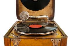 Αναδρομικό gramophone Στοκ φωτογραφία με δικαίωμα ελεύθερης χρήσης