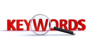 Αναζήτηση λέξης κλειδιού Στοκ φωτογραφίες με δικαίωμα ελεύθερης χρήσης