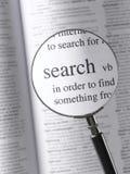 Αναζήτηση Στοκ Εικόνα