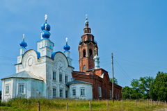 αναζοωγόνηση καθεδρικών ναών cherdyn Στοκ εικόνα με δικαίωμα ελεύθερης χρήσης