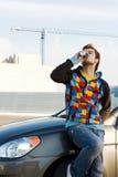 αναζωογόνηση οδηγών ποτών &a Στοκ φωτογραφίες με δικαίωμα ελεύθερης χρήσης