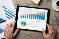 Αναθεώρηση δημοσιονομικού έτους στοκ εικόνα