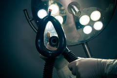 Αναισθησία στο λειτουργούν δωμάτιο Στοκ φωτογραφίες με δικαίωμα ελεύθερης χρήσης