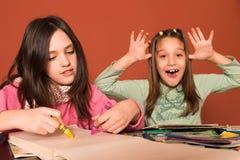 αναιδές κορίτσι σχεδίων Στοκ Εικόνα