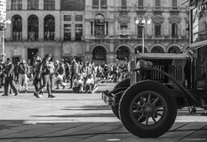 Ανακάλυψη του Μιλάνου Στοκ φωτογραφία με δικαίωμα ελεύθερης χρήσης