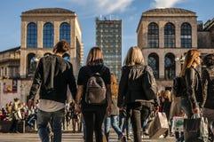 Ανακάλυψη του Μιλάνου Στοκ εικόνα με δικαίωμα ελεύθερης χρήσης