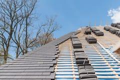 Ανακαίνιση και επισκευή κατασκευής σπιτιών Στοκ Εικόνα